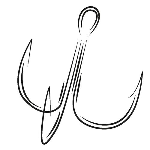 Крючки тройники